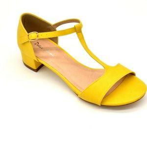 Dolce Nome Women's Hilda T Strap Sandal EUR 38 New